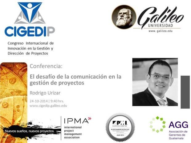 Conferencia CIGEDPI 2014 RU